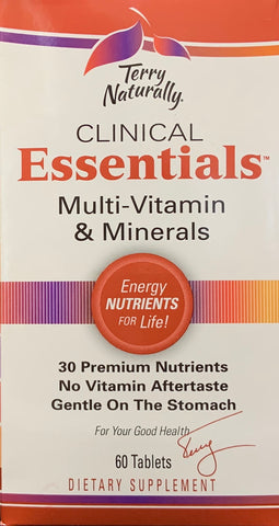 Terry Naturally Clinical Essentials™  60 Tablets