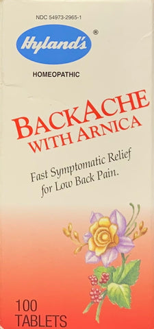 Hyland's BackAche with Arnica  100 tablets