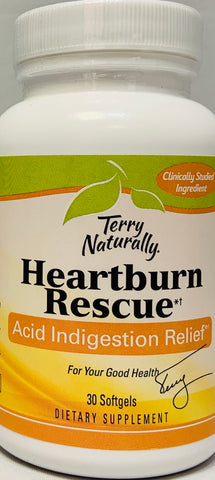Terry Naturally Advanced Heartburn Rescue™*†  30 Softgels