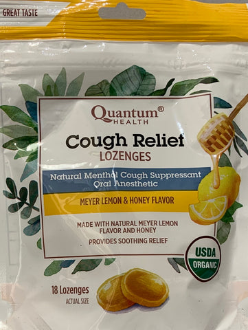TheraZinc® Cough Relief Organic  18 Lozenges