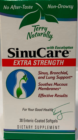 Terry Naturally SinuCare™ Extra Strength  30 Enteric Coated Softgels