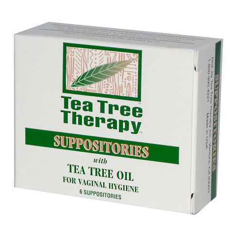 Tea Tree Therapy Tea Tree Suppository  6 count