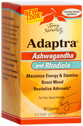 Adaptra Ashwagandha and Rhodiola 60 caps