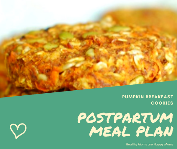 PostPartum Meal Plan Week 1
