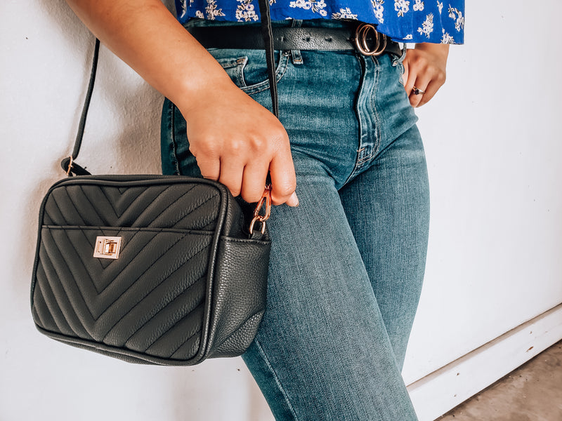 Chevron Quilted Bag