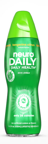Neuro Daily Tangerine Citrus (14.5 fl oz pack of 12)