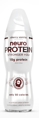 Neuro Protein Cherry Vanilla (14.5 fl oz Pack of 12)