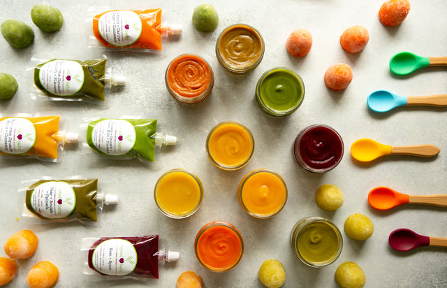 Get locally sourced organic baby food delivered to your home.