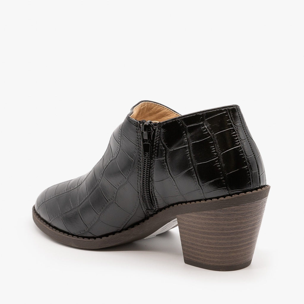 Womens Adorable Low Ankle Booties - Mata