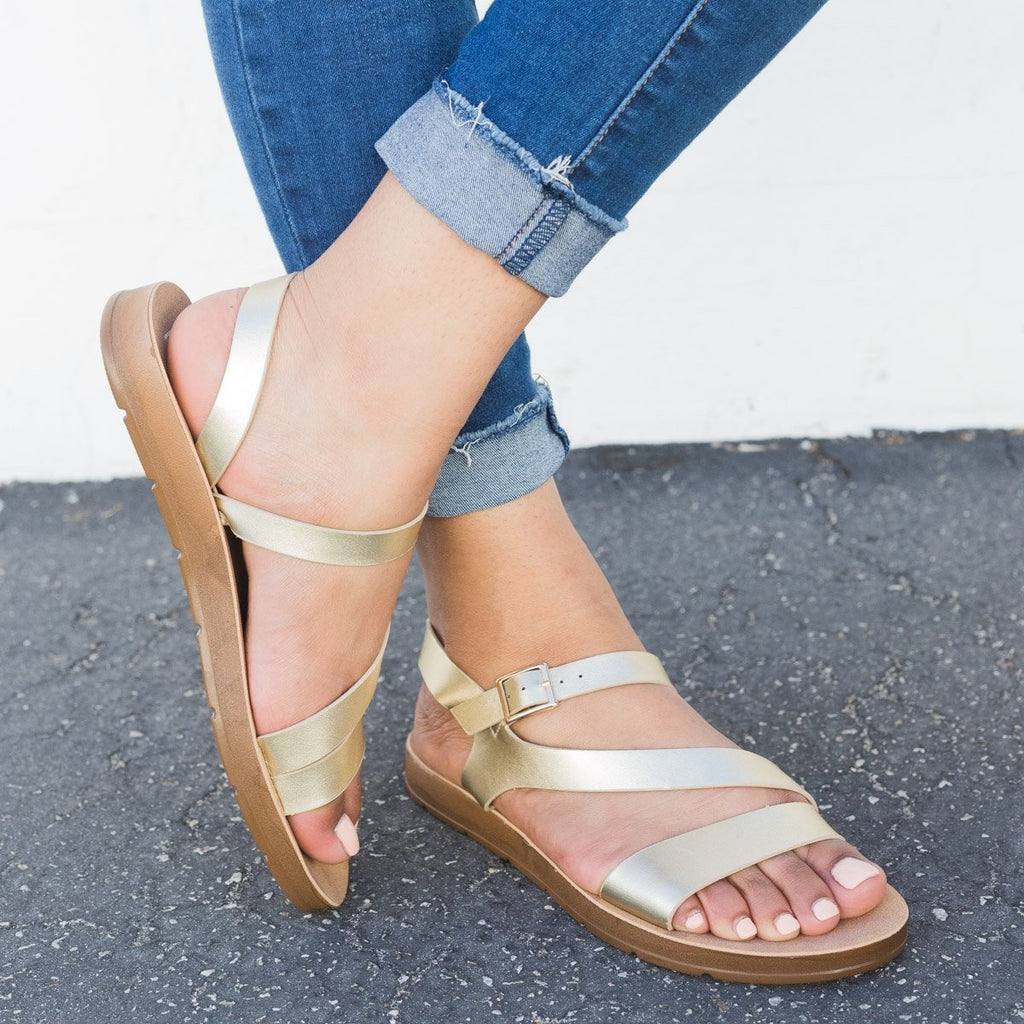 Women's Asymmetrical Slingback Sandals - Refresh