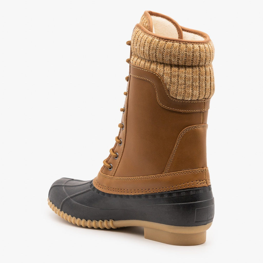 Womens Autumn Duck Boots - Refresh