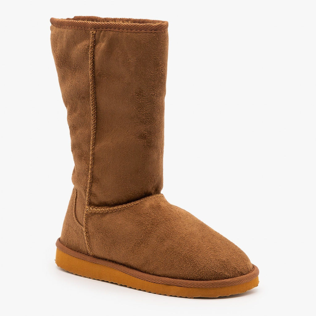 Womens Basic Comfort Boots - Soda Shoes