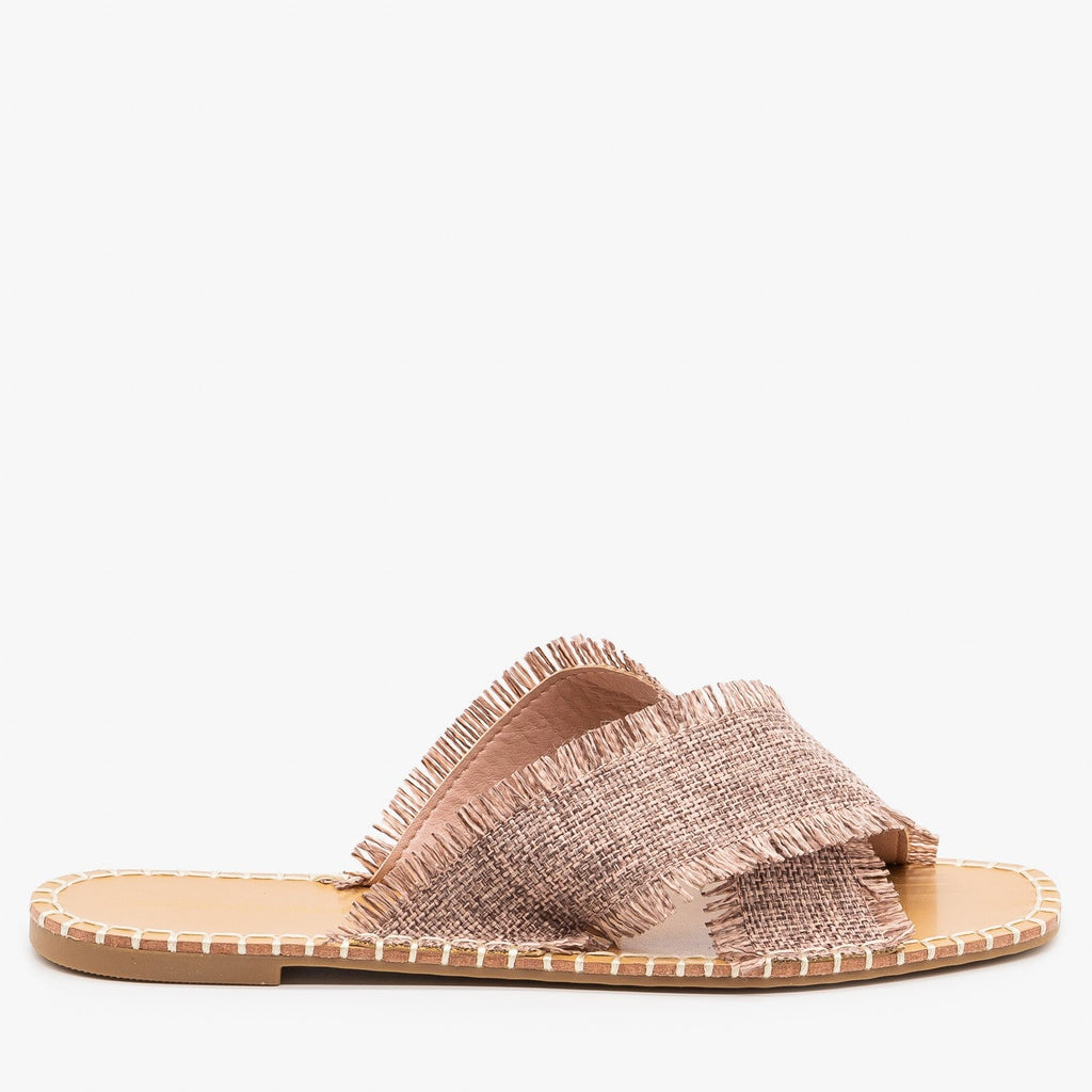 Womens Boho Criss-Cross Sandals - Shoe Republic LA