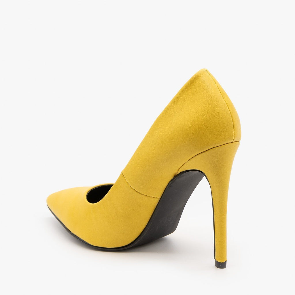 Womens Bold Stiletto Heels - Delicious Shoes