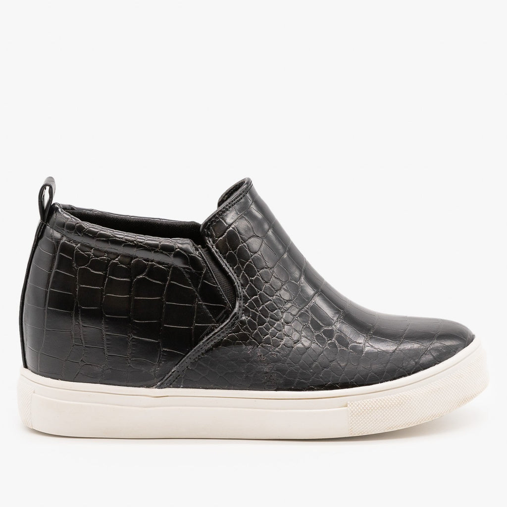 Womens Casual Slip On Fashion Sneakers - Top Moda