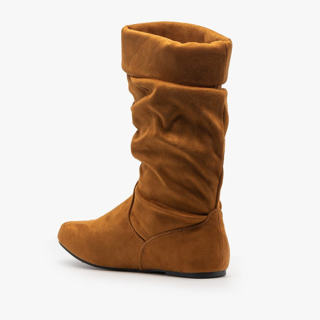 Womens Casual Slouchy Boots - Forever