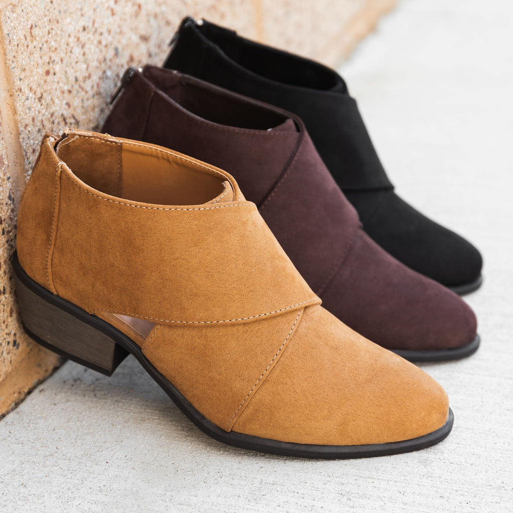 Women's Chic All-Season Booties - Bamboo Shoes