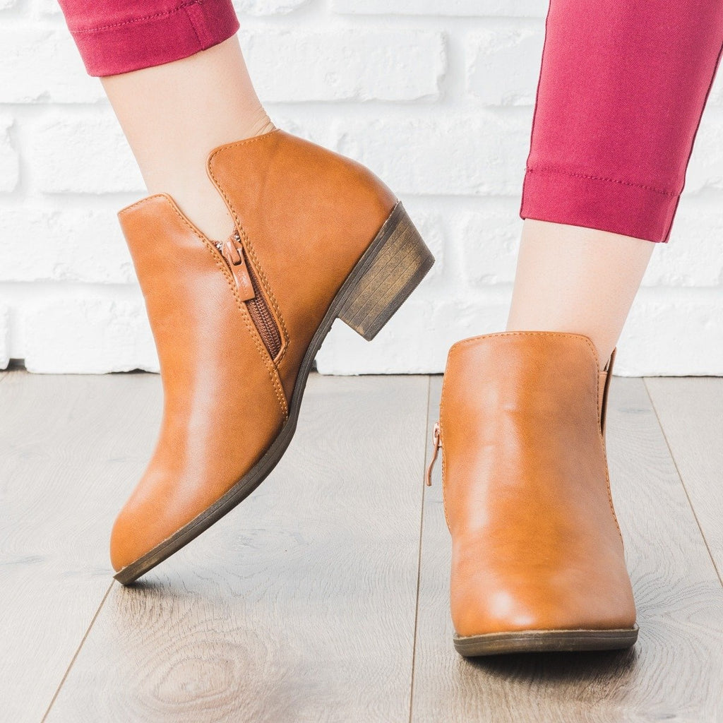 Womens Chic Ankle Booties - Weeboo