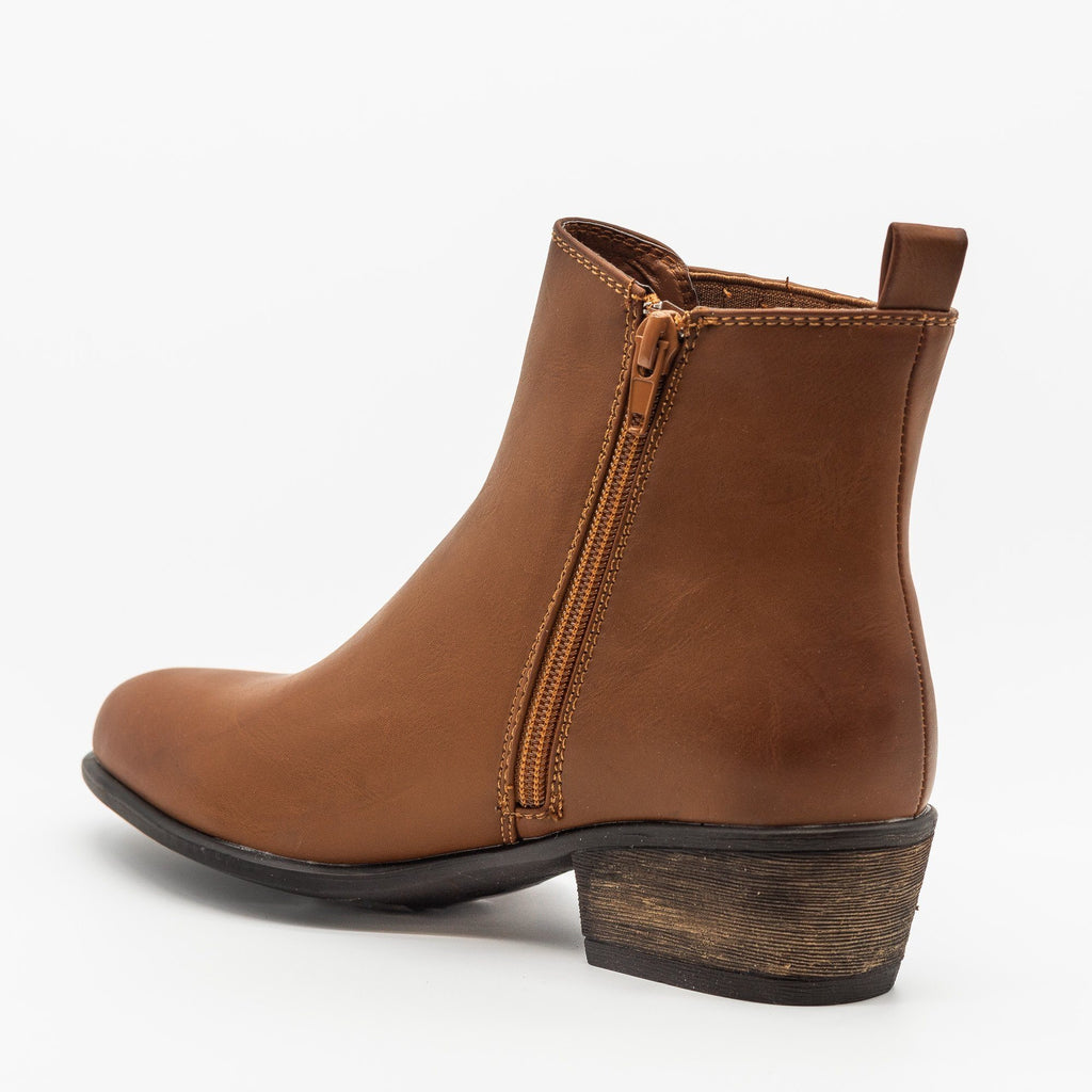Womens Chic Classic Chelsea Boots - Bamboo Shoes