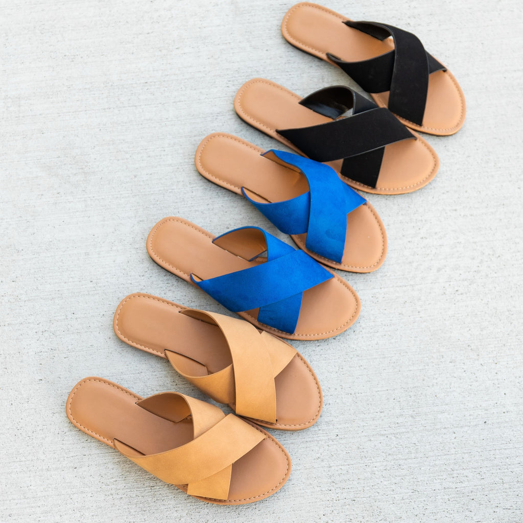 Women's Chic Crossover Sandals - Top Moda