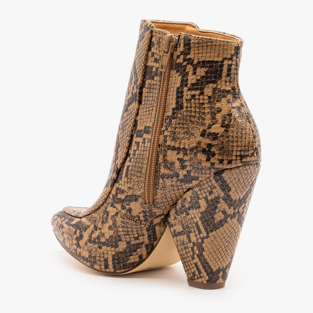 Womens Chic Day to Night Booties - Mata