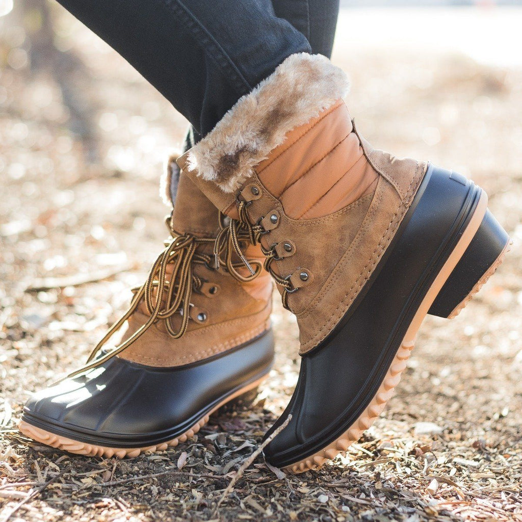 Womens Chic Duck Boots - Nature Breeze