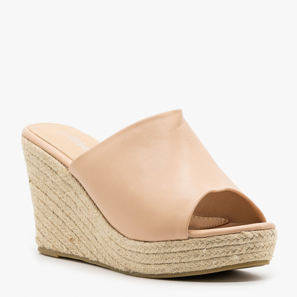 Womens Chic Espadrille Wedges - Weeboo