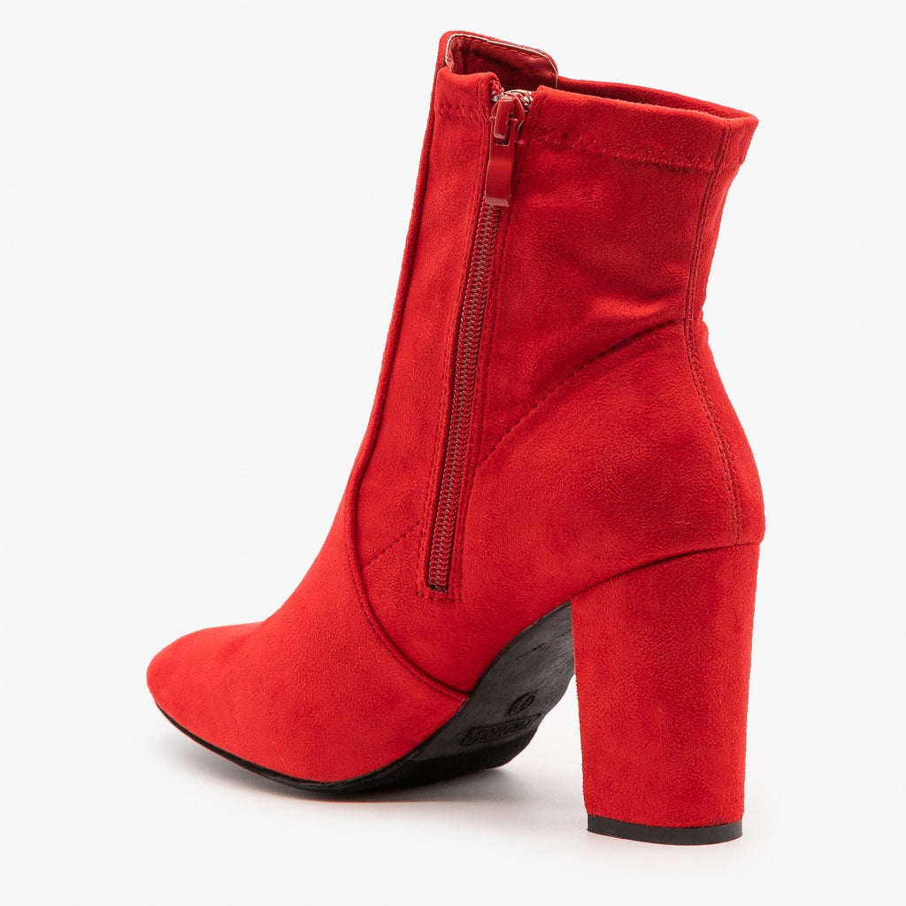 Womens Chic Party Booties - Top Moda