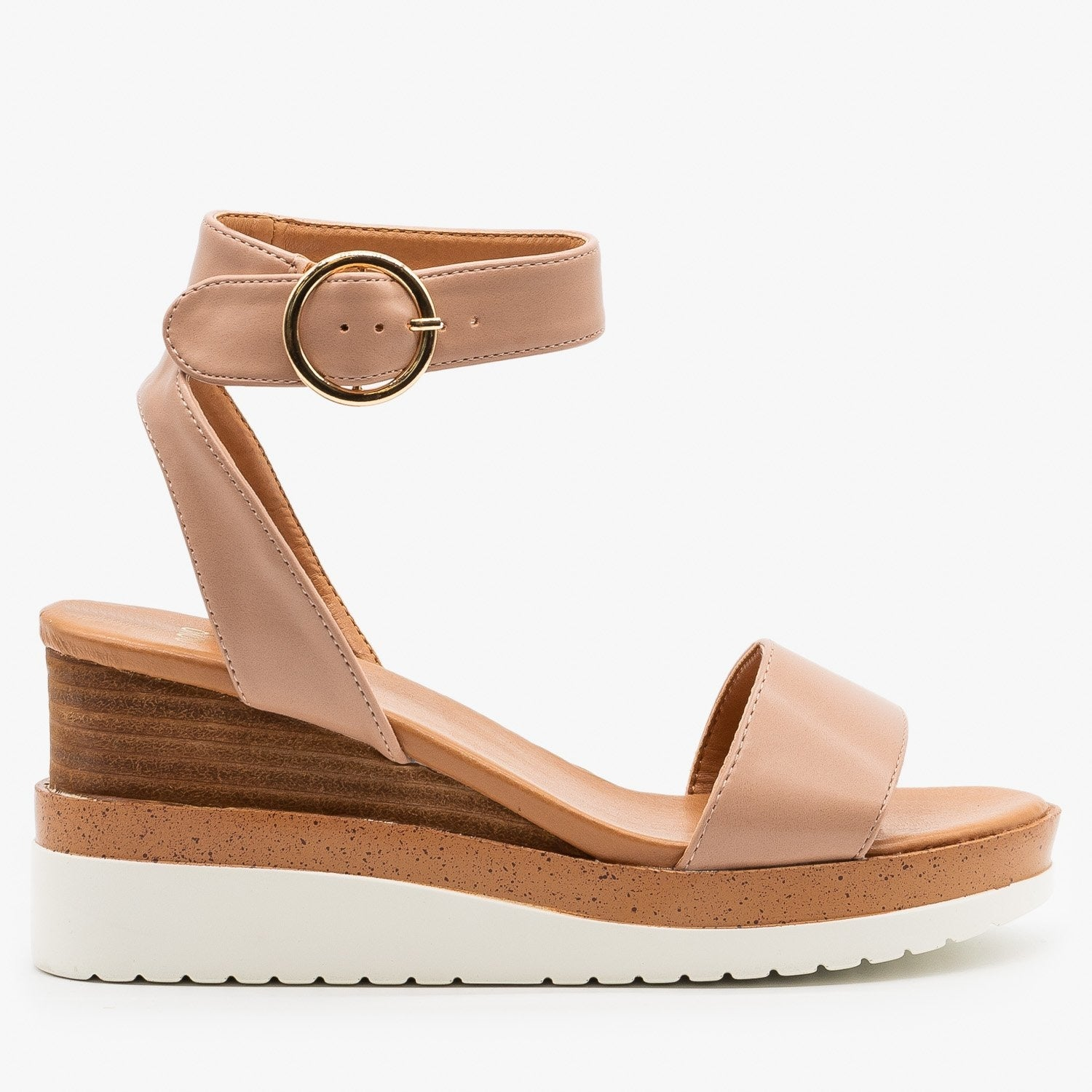 Chic Summer Wedge Sandals - Novo Shoes