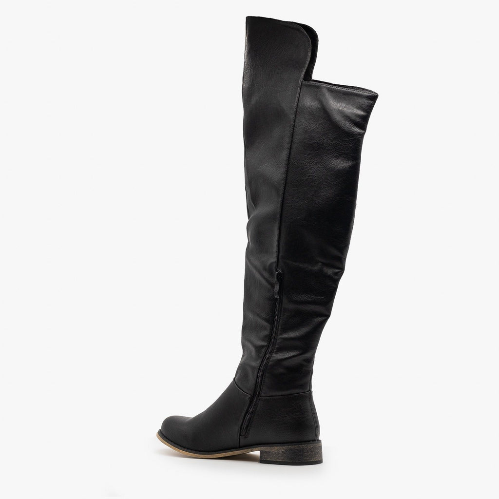 Womens Chic Tall Rider Boots - Nature Breeze