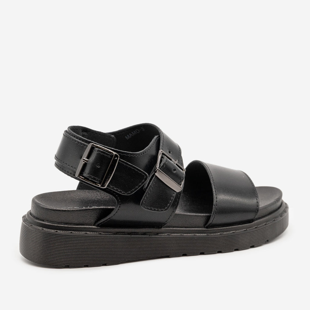 Women's Chunky Monochrome Sandals - Top Moda