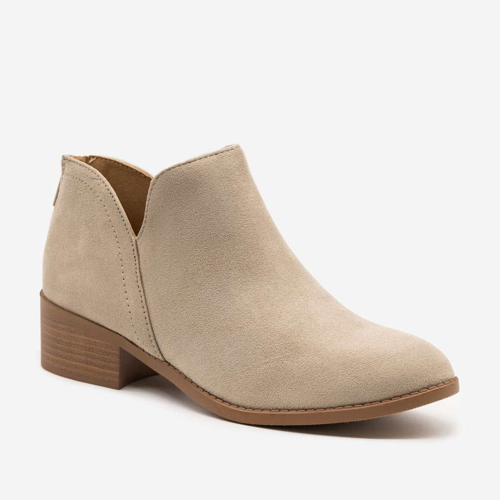 Women's Classic Ankle Booties - Soda Shoes