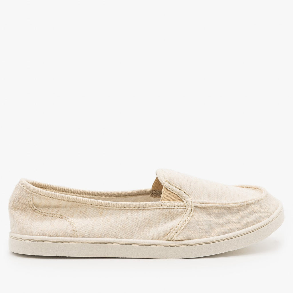 Classic Cloth Slip On Loafers - Forever