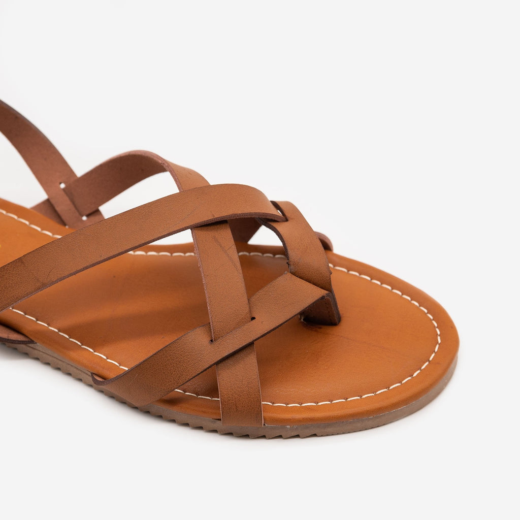 Women's Classic Strappy Summer Sandals - Forever
