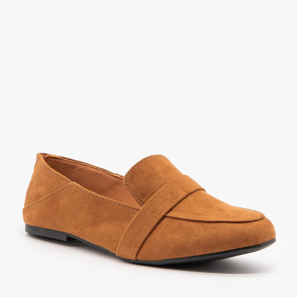 Womens Classy Fashion Loafer Flats - Bamboo Shoes