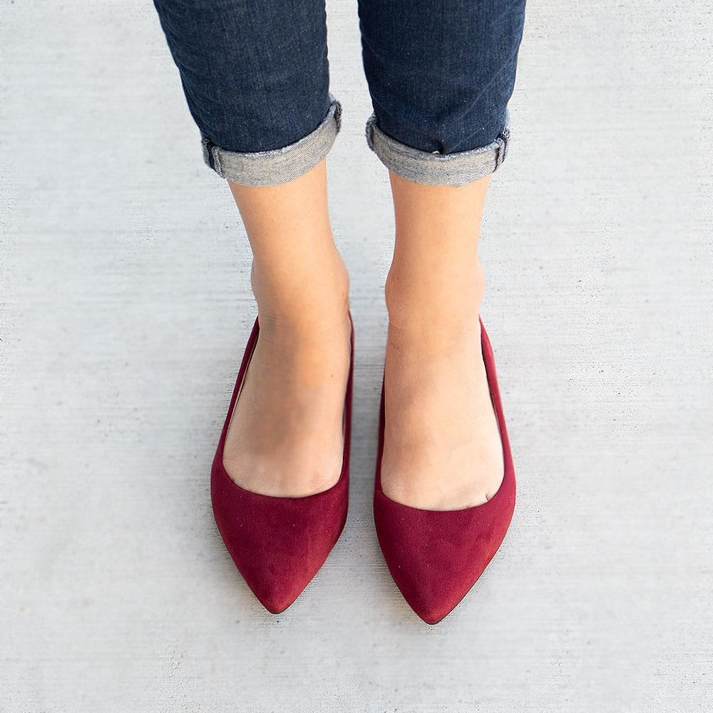 Women's Classy Pointed-Toe Flats - Forever
