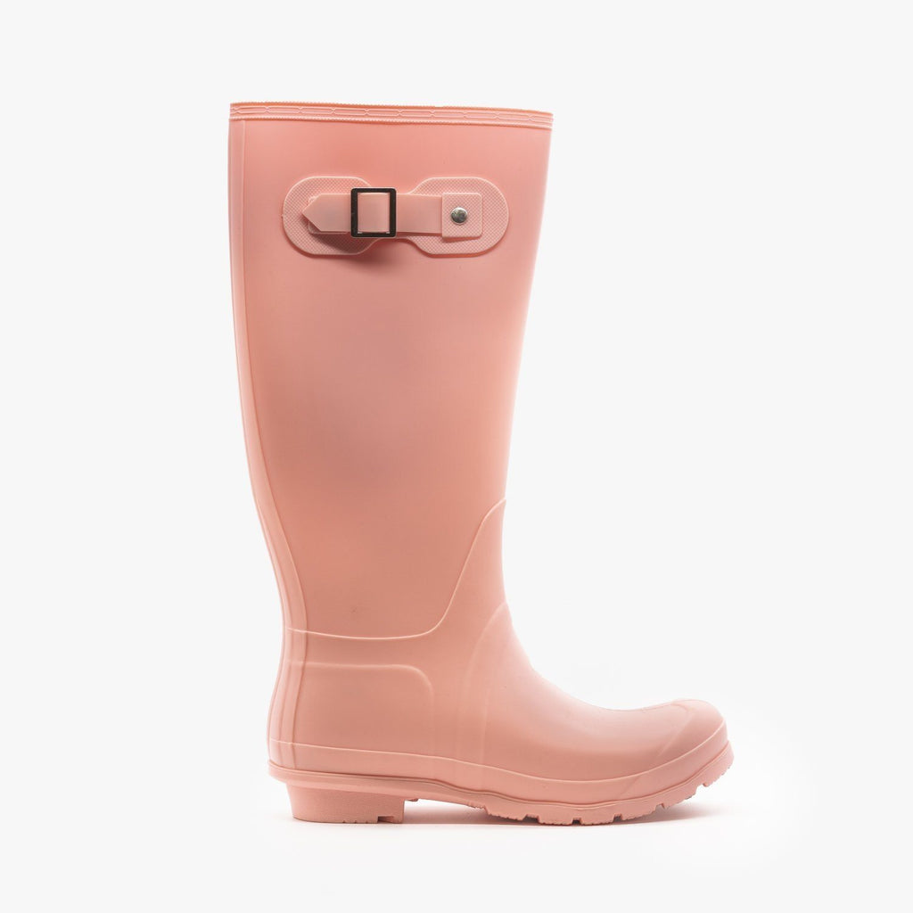 Womens Colorful Classic Rain Boots - Weeboo - Candy Floss / 5