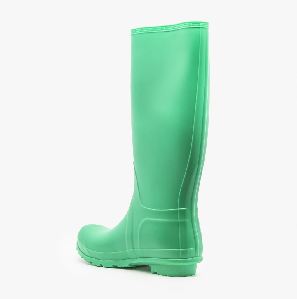 Womens Colorful Classic Rain Boots - Weeboo