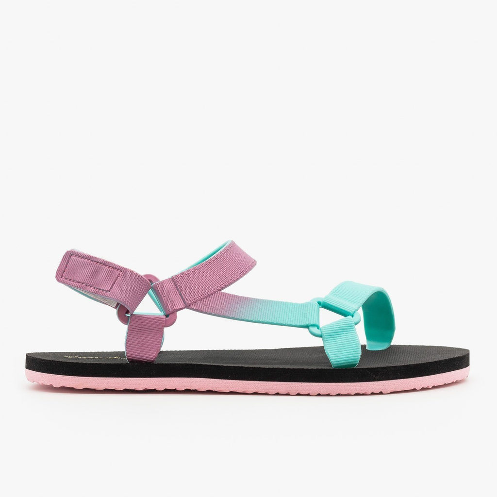 Womens Colorful Ombre Sandals - Qupid Shoes