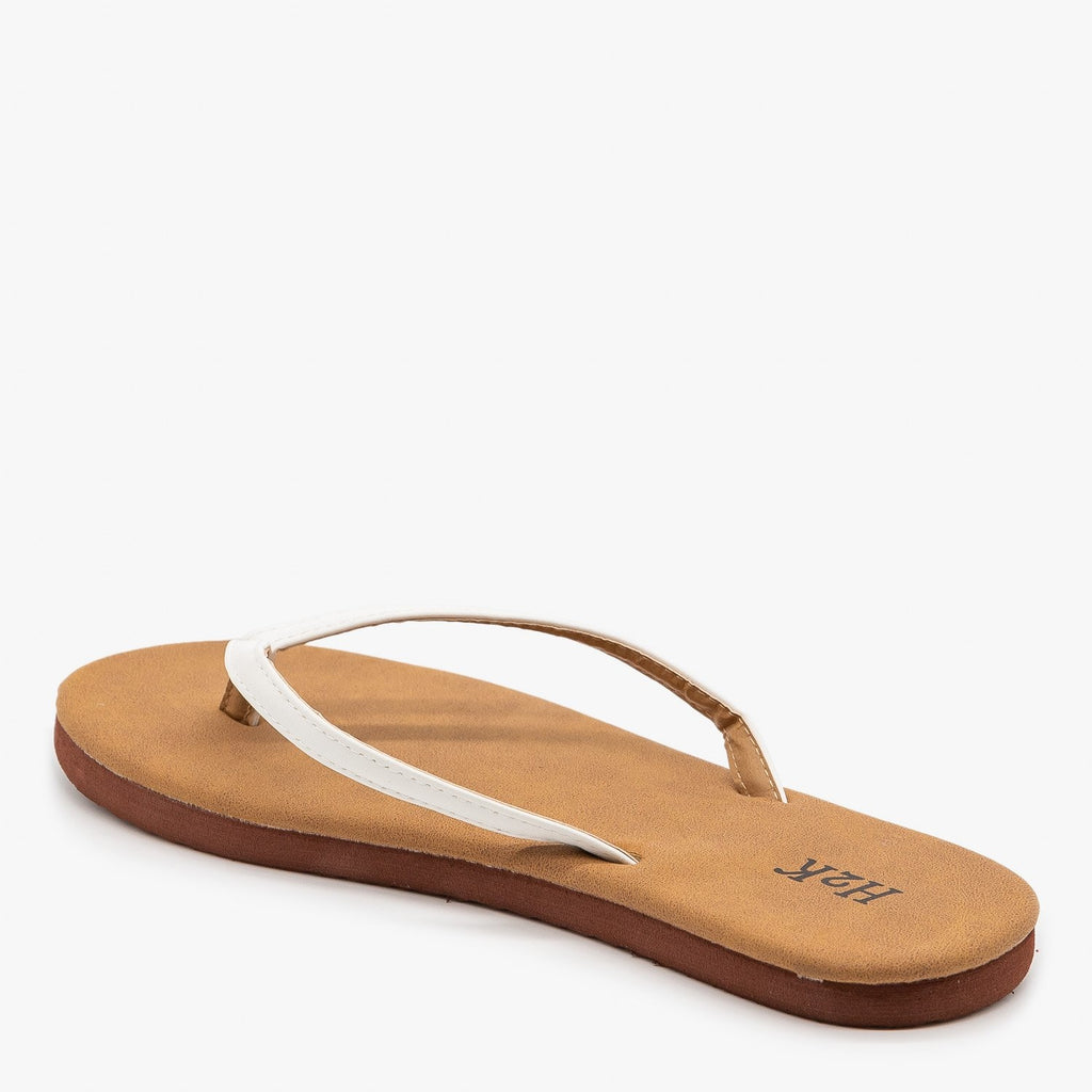 Womens Comfy Flip Flop Sandals - H2K Shoes
