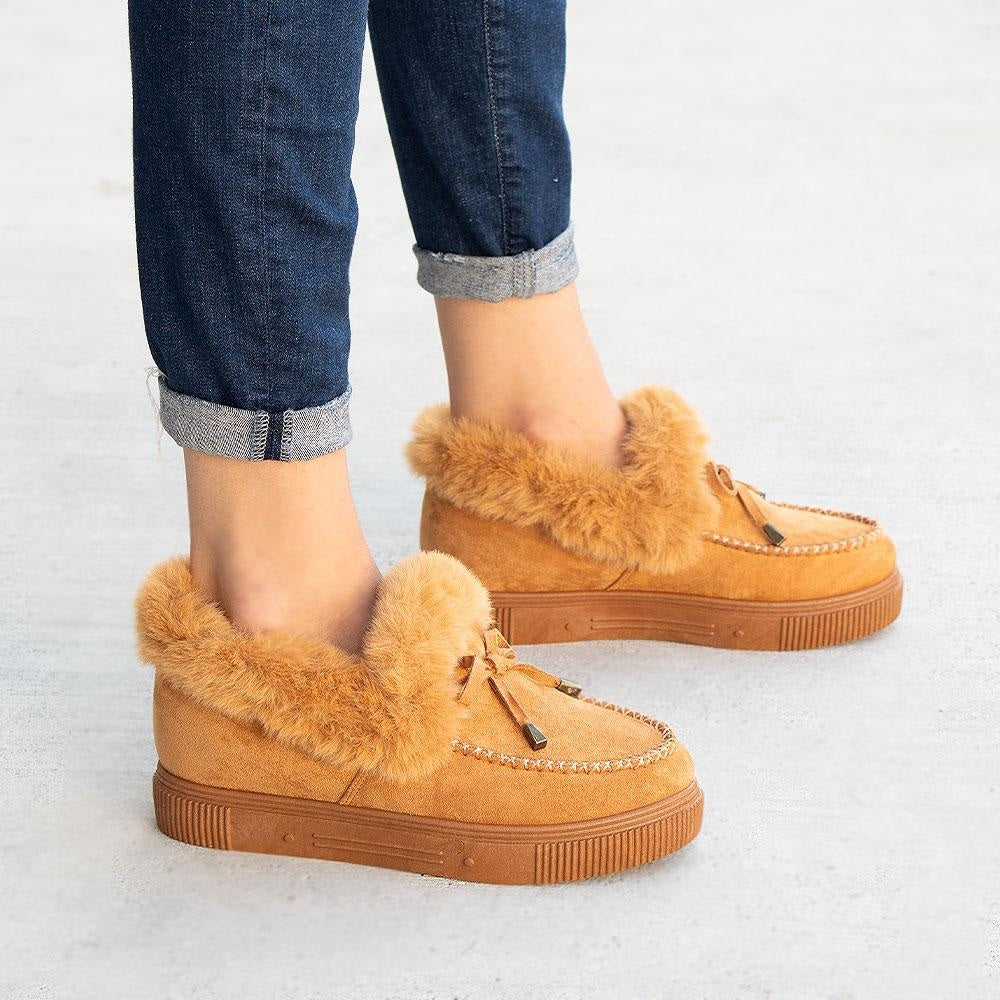 Women's Comfy Moccasin Style Sneakers - Bamboo