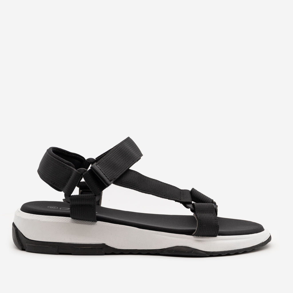 Women's Comfy Outdoor Sandals - Forever - Black / 5