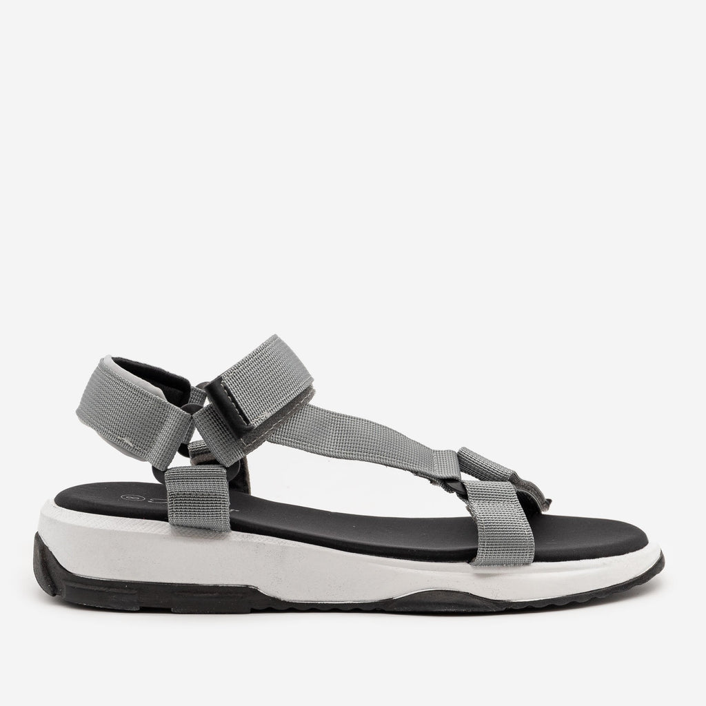 Women's Comfy Outdoor Sandals - Forever - Gray / 5