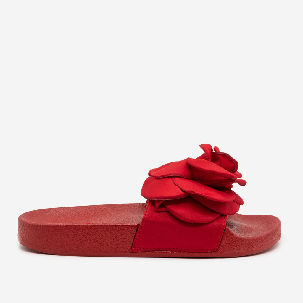 Women's Comfy Rose Slides - Soho Girls