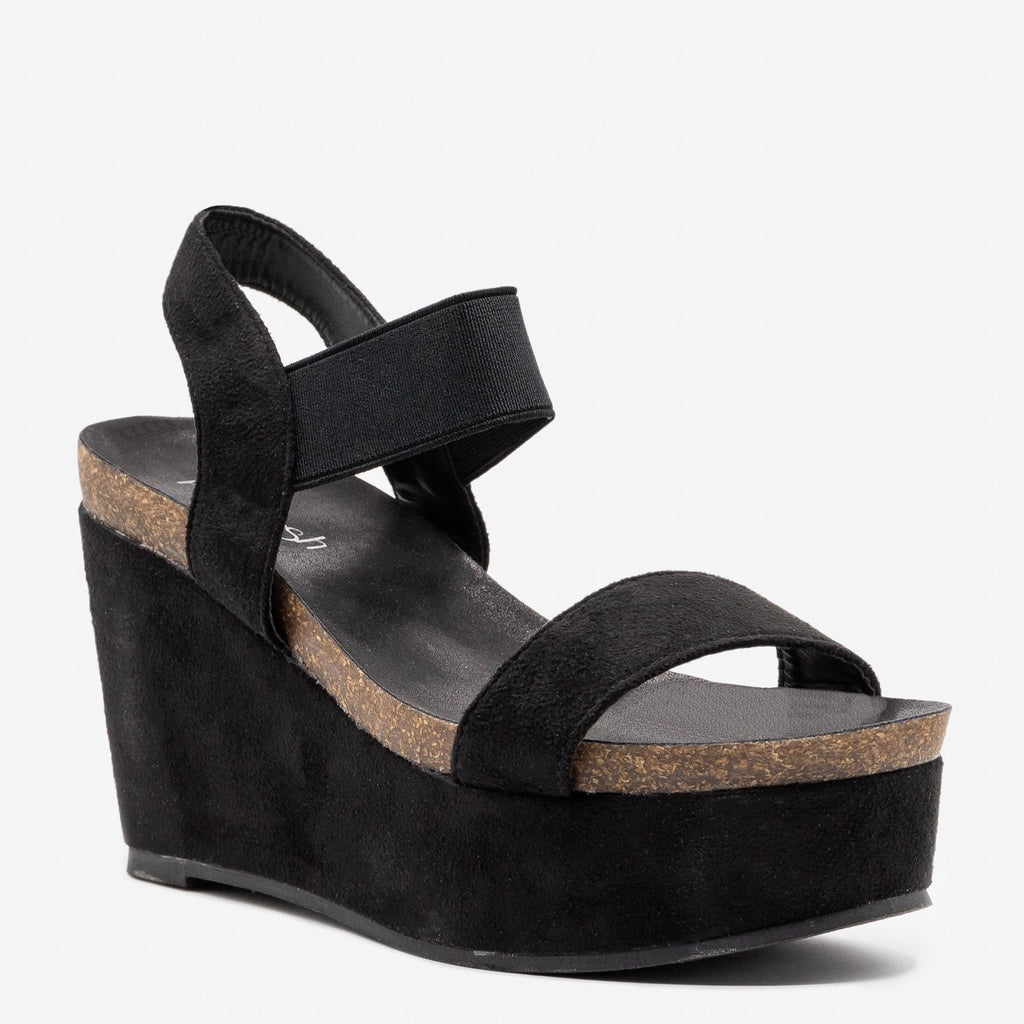 Women's Comfy Sassy Platform Wedges - Refresh