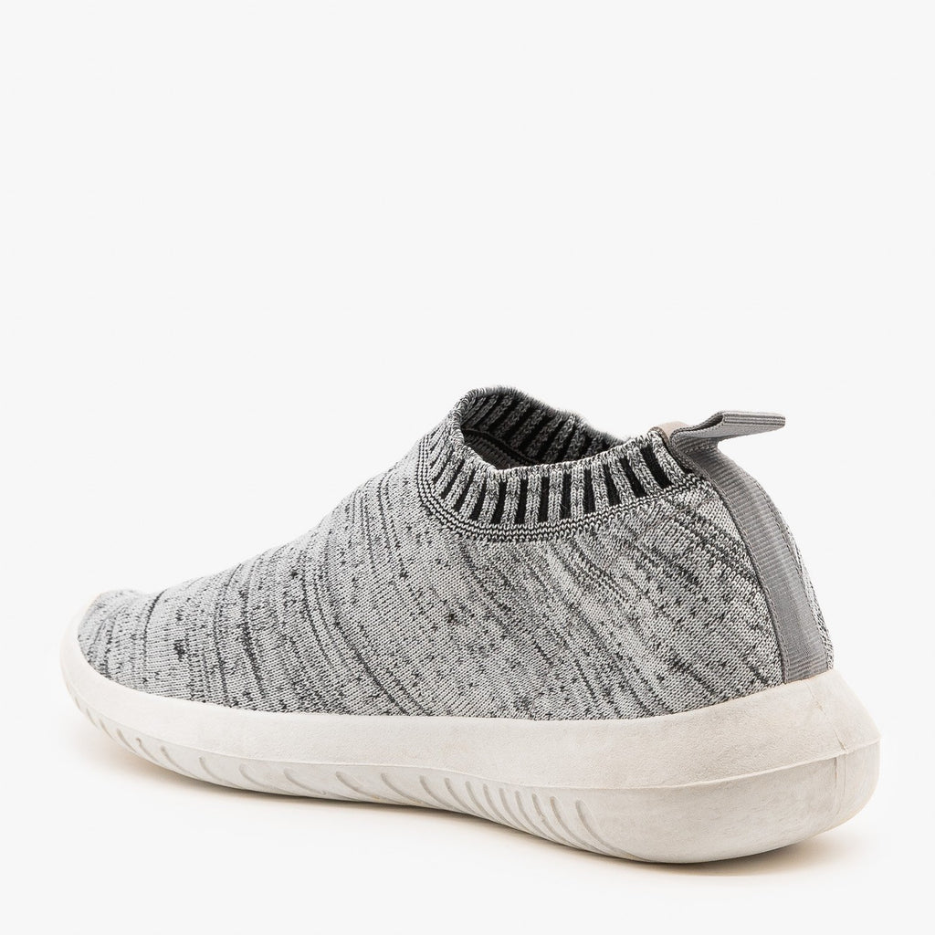 Womens Comfy Sock Sneakers - Wild Diva Shoes