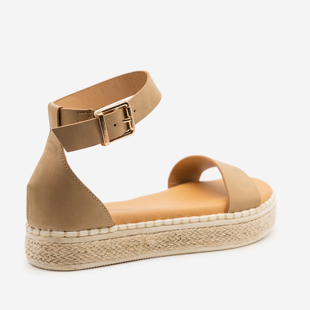 Women's Comfy Summer Espadrille Sandals - Bamboo Shoes