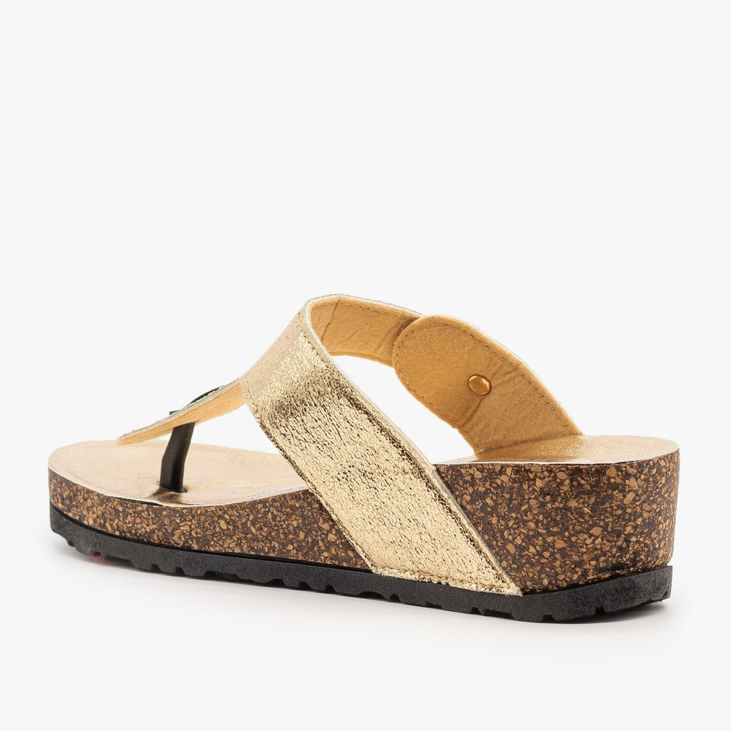 Womens Cork Platform Sandal - Bamboo Shoes