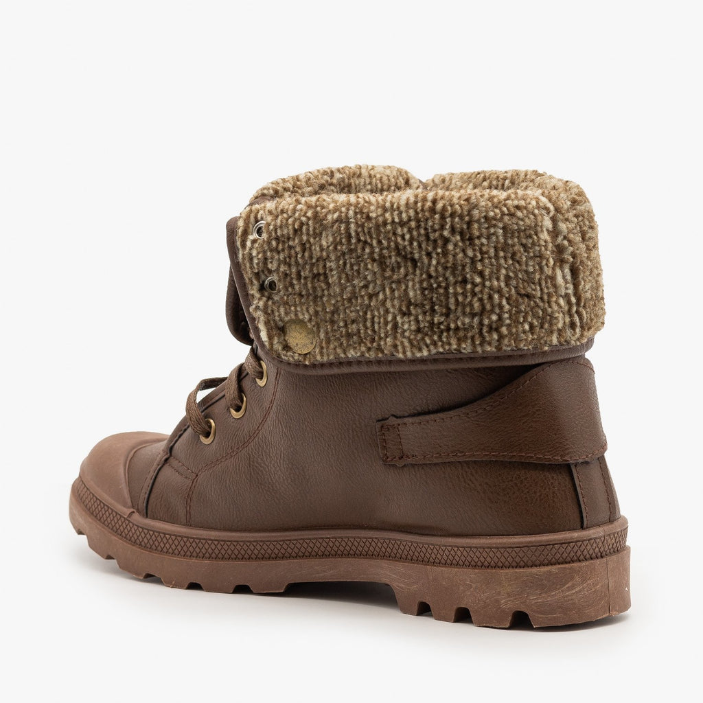 Womens Cozy Sweater Sneaker Boots - Refresh