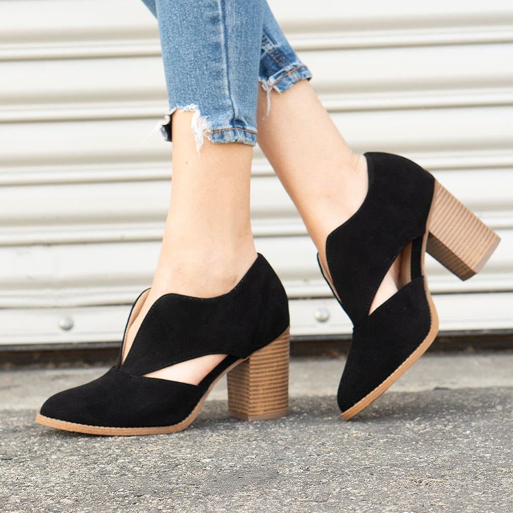 Women's Creative Cut-Out Heel - Mata